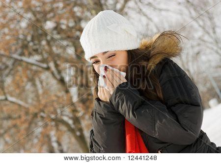 Winter sneezing