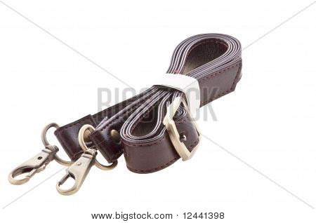 Carabiner isolated