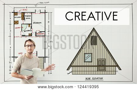 Creative Creativity Housing Interior Structure Concept