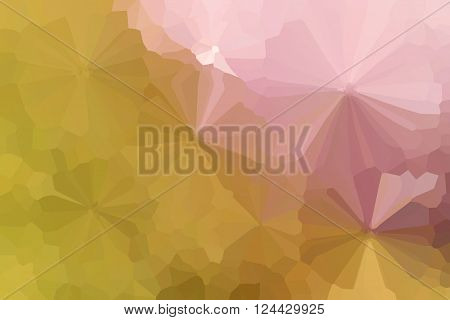 Colourful Crystallize Abstract Background In Pastel Yellow Pink Colour