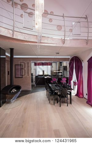 Two Storey Fancy House Interior