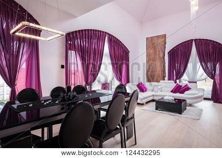 Spacious Luxury Dining Room