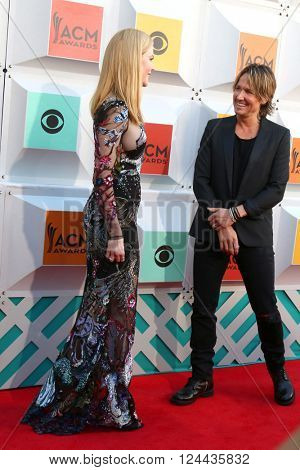 LAS VEGAS - APR 3:  Nicole Kidman, Keith Urban at the 51st Academy of Country Music Awards Arrivals at the Four Seasons Hotel on April 3, 2016 in Las Vegas, NV