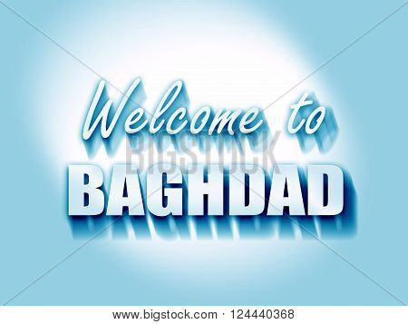 Welcome to baghdad with some smooth lines