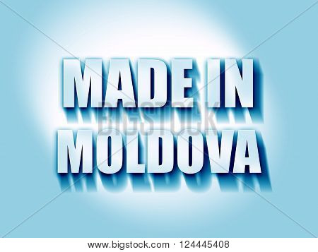 Made in moldova with some soft smooth lines