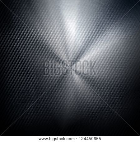 striped metal with light background