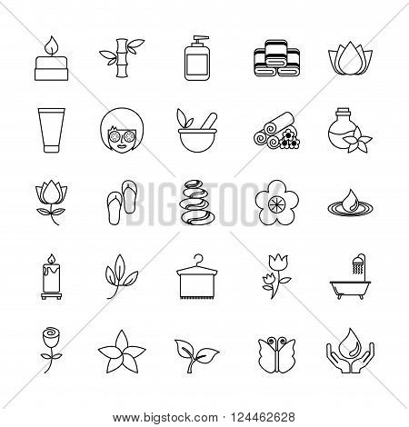 beauty spa design, vector illustration eps10 graphic