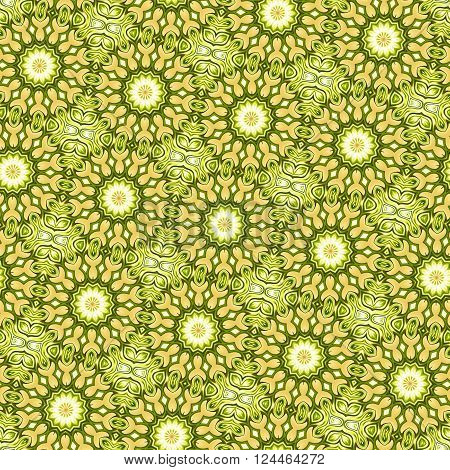 Colorful Seamless Kaleidoscopic Pattern