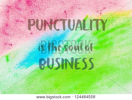Inspirational Abstract Water Color Background