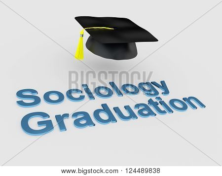 Sociology Graduation Concept