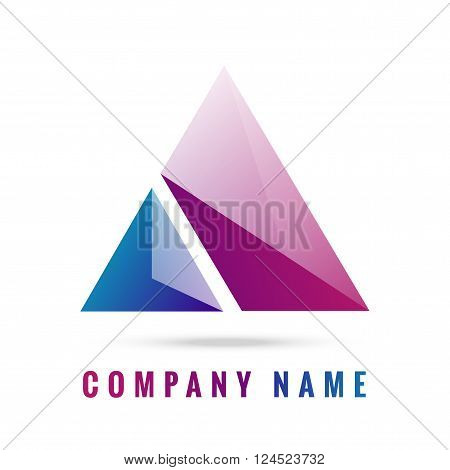 Abstract Polygon a 3d colorful logo design created by adobe illustrator can re sizes up to your target nice colorful logo