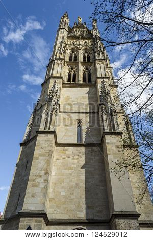 Pey Berland bell tower of Cathedral of St. Andre.
