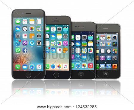 Evolution Of Apple Iphone