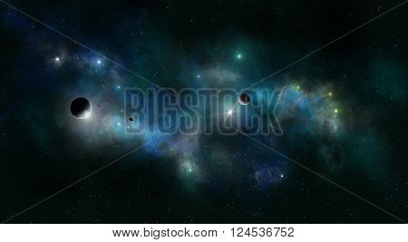 Deep Space Star Field