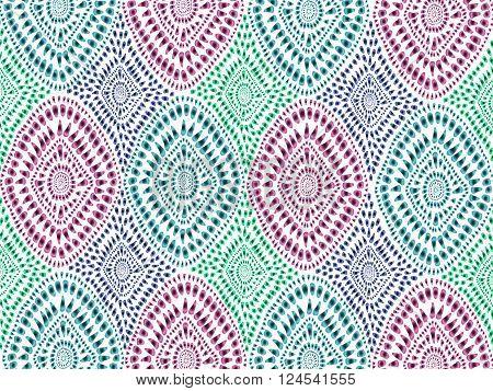 Boho Tie Dye Background Texture Watercolor Effect Vector 4