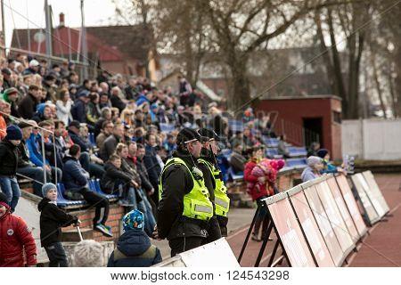 Municipal Police Of Daugavpils Keep Order