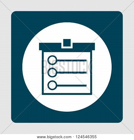 Task List Icon In Vector Format. Premium Quality Task List Icon. Web Graphic Task List Icon Sign On