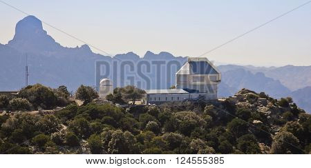 TUCSON, ARIZONA, FEBRUARY 28. Kitt Peak National Observatory on February 28, 2016, near Tucson, Arizona. The WIYN 3.5m telescope at Kitt Peak National Observatory near Tucson Arizona.