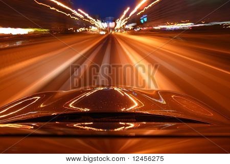 speed drive on car