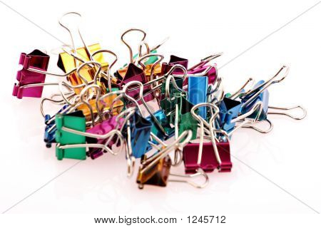 Coloured Paperclips