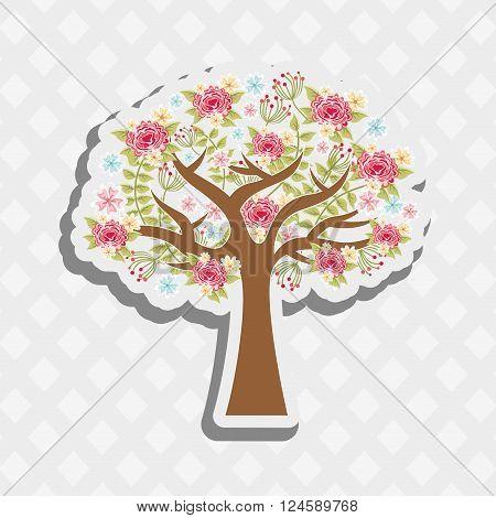 tree icon  design, vector illustration eps10 graphic