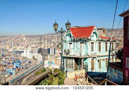 Valparaiso Chile Cityscape
