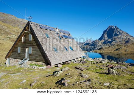 Ayous Shelter in Ossau Valley, Pyrenees National Park, Pyrenees, France.