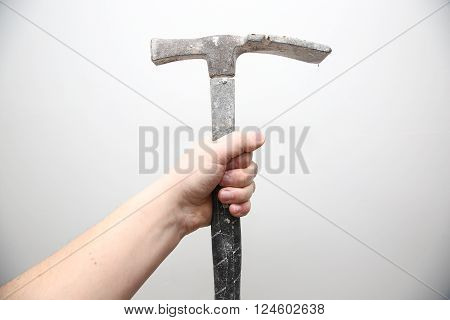 Man Hold In The Hand Tools