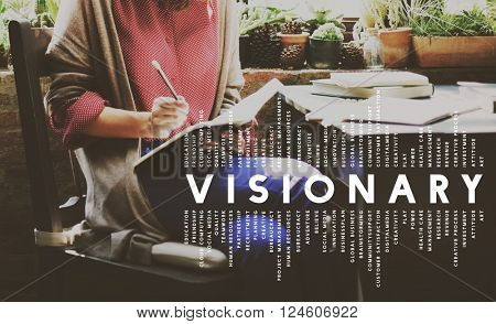 Visionary Vision Introspective Strategist Concept