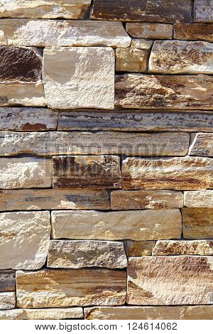 Natural stone materials in classic building patterns and methods for sample texture and background for construction and industry and home