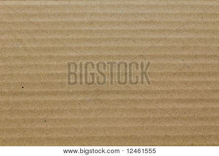 Brown Corrugated Cardboard As Background