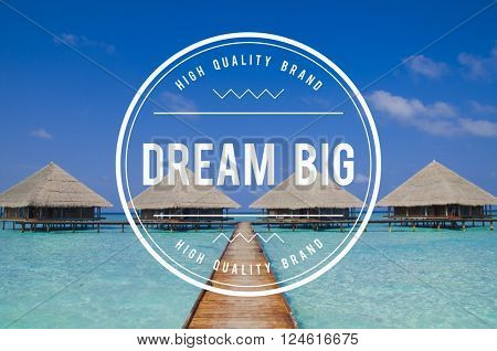 Dream Big Dreaming Dream Believe Goal Hopeful Concept