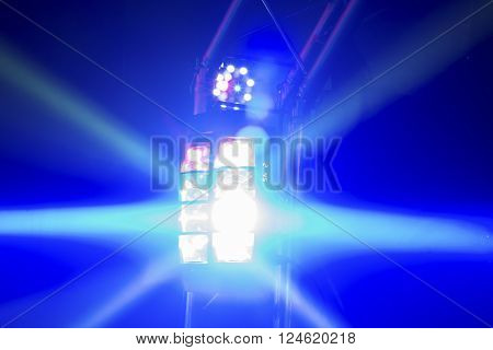 Coloured Disco Lights