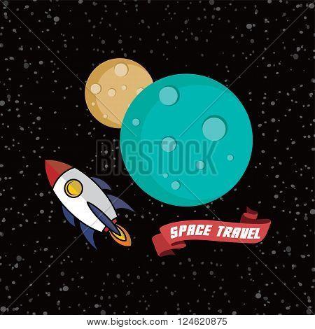 Rocket Ship Space Travel