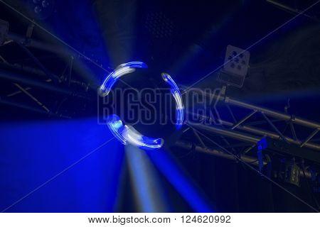 Spinning Disco Light