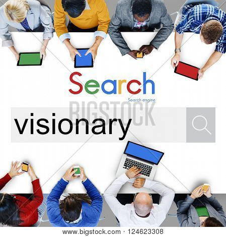 Visionary Vision Idea Creativity Ambition Concept
