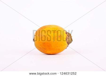 Ripe Betel nut is a yellowish orange