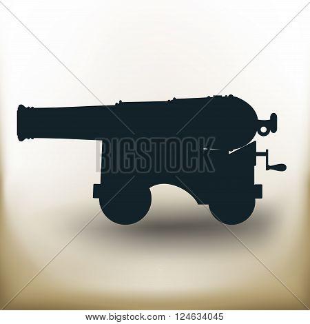Vintage Cannon Pictogram