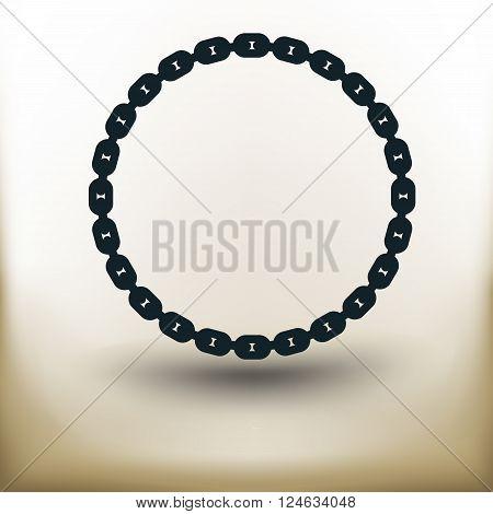 Circle Pictogram Chain