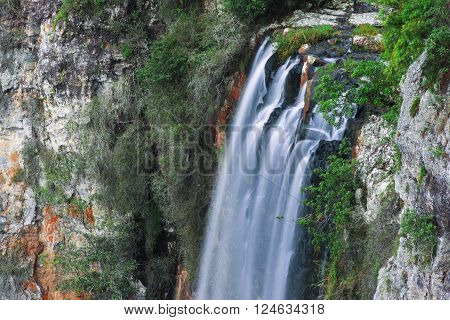 Purlingbrook Falls in Springbrook National Park, Queensland, Australia