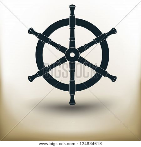 Steering Wheel Pictogram