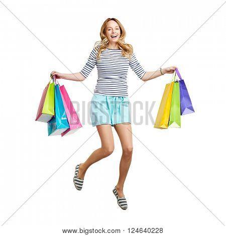 Ecstatic consumer