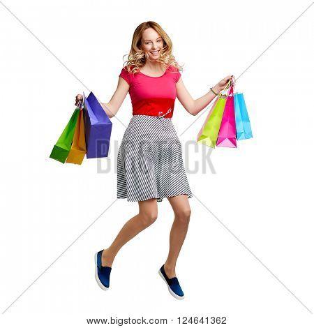 Shopper at sale