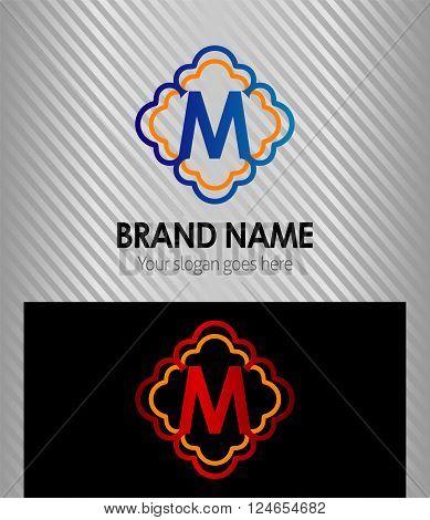 Letter M Letter M vector design template