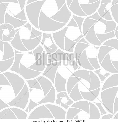 vector seamless background with abstract lens superimposed on each other