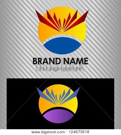 Sunlight logo Sunlight logo vector design template
