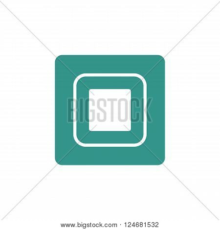 Music Stop Icon In Vector Format. Premium Quality Music Stop Icon. Web Graphic Music Stop Icon Sign