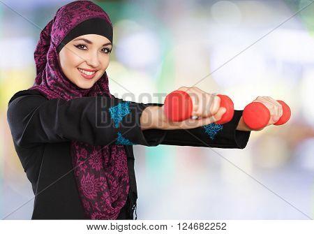 Woman arabic.