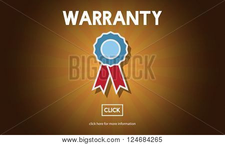 Warranty Guarantee Quality Promise Service Concept