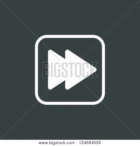 Music Next Icon In Vector Format. Premium Quality Music Next Icon. Web Graphic Music Next Icon Sign